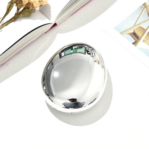 Mirror-Colorful-Contact-Lens-Case-Silver-Water-drop-Contact-Lens-Box