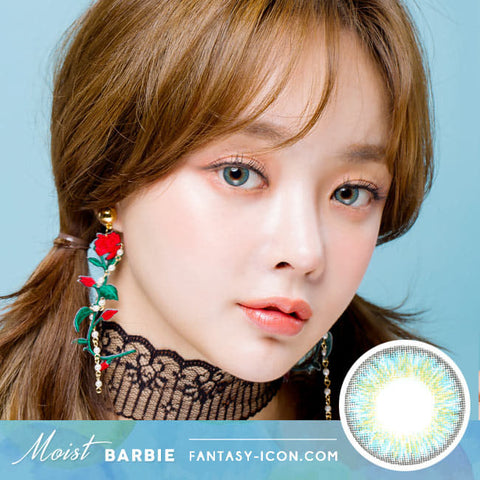 Colored Contacts For Astigmatism Moist Baribie Blue