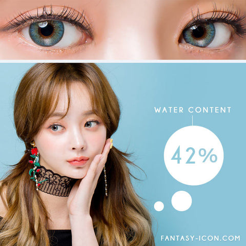 Moist Barbie 3 tone Blue Colored Contacts For Astigmatism