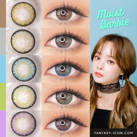 Toric Lens Colored Contacts For Astigmatism Moist Barbie 3 tone