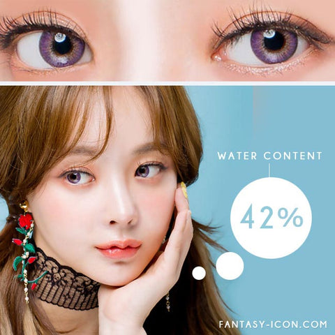 Moist Barbie 3 tone Violet Toric Lens Colored Contacts For Astigmatism