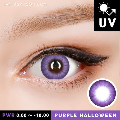 Natural Purple Contacts