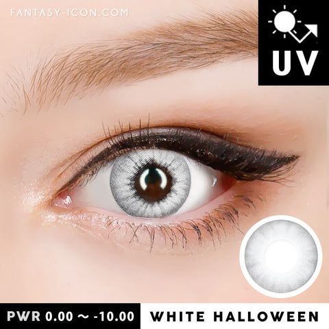 Natural White Contacts