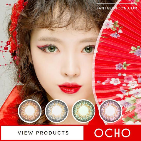 Colored Contacts Ocho - Circle Lenses