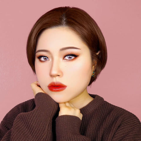Pink Colored Contacts - Ruby Artric - Review
