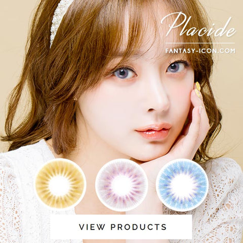 Colored Contacts Placide Grey - Circle Lenses 6
