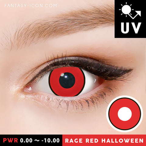 Red Contacts Halloween Lenses