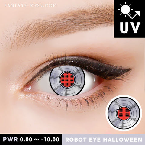 Robot Eye Contacts