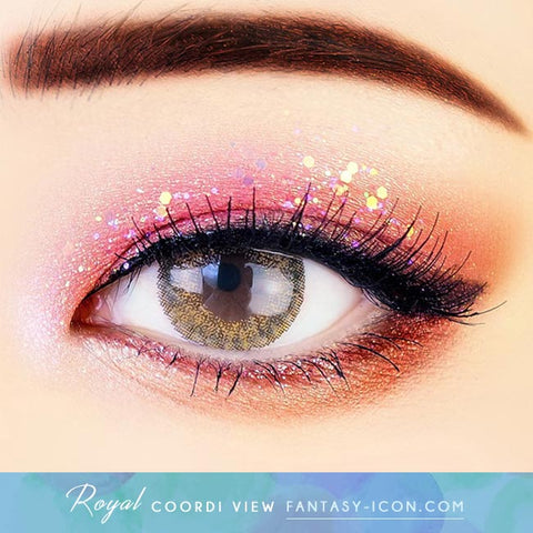 Brown Contacts - Royal Coordiview