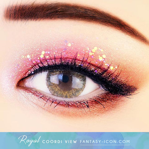 Royal Coordiview Brown Contacts - Eyes