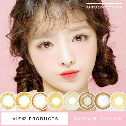 Colored Contact Lenses - Magic Chocolate Brown