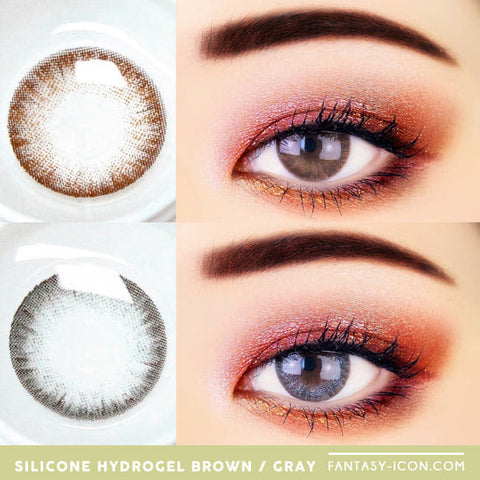 Soft Artric Silicone hydrogel Lens - 2 Day Colored Contacts eyes