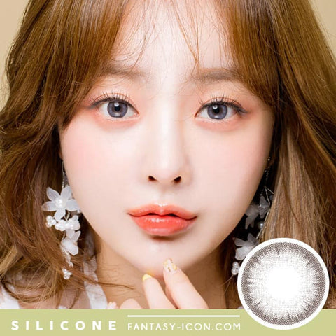 Soft Artric Silicone hydrogel Lens - 2 Day Grey Colored Contacts model