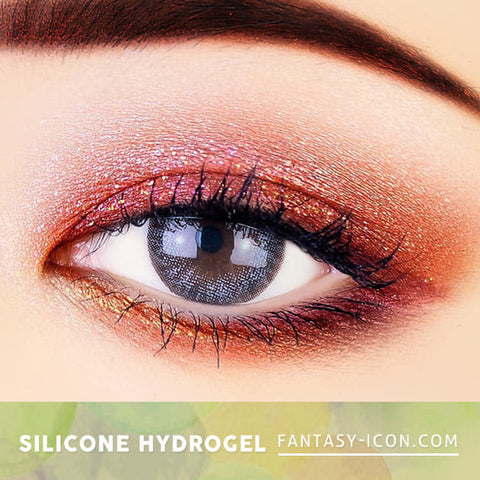 Soft Artric Silicone hydrogel Lens - 2 Day Grey Colored Contacts eyes