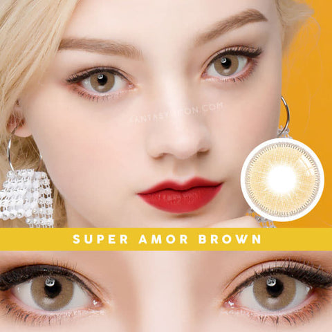 Innovision Super Amor Brown Contacts