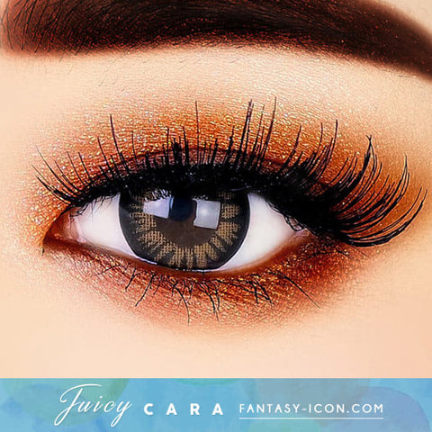 Juicy Cara Brwon Toric Lens Colored Contacts For Astigmatism eyes