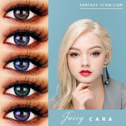 Toric Lens Juicy Cara Colored Contacts For Astigmatism