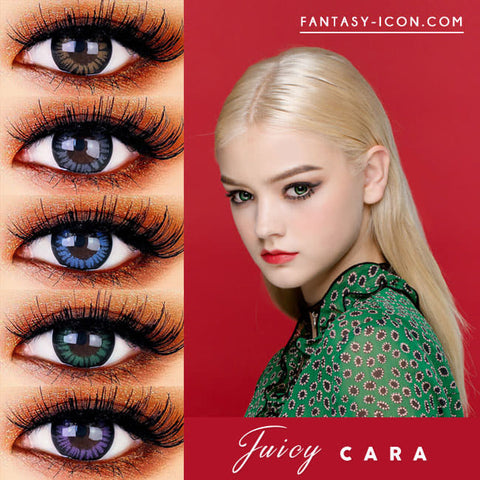 Juicy Cara Colored Contacts For Astigmatism - Toric Lens