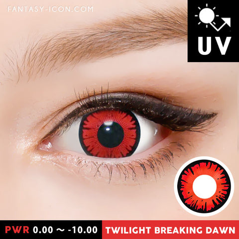 Twilight Breaking Dawn Red Contacts