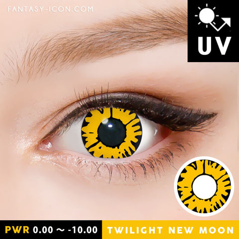 Twilight New Moon Yellow Contacts