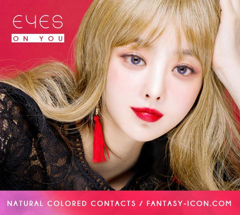 Violet Colored Contacts - Purple
