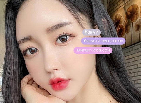Toric Lens Beauty Two Color Gray Colored Contacts For Astigmatism 2