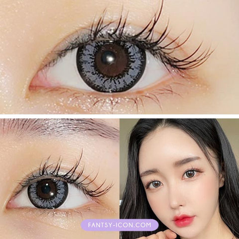 Gray Toric Lens Beauty Two Color