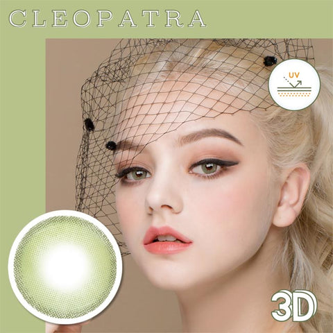 Innovision Cleopatra 3D green contacts