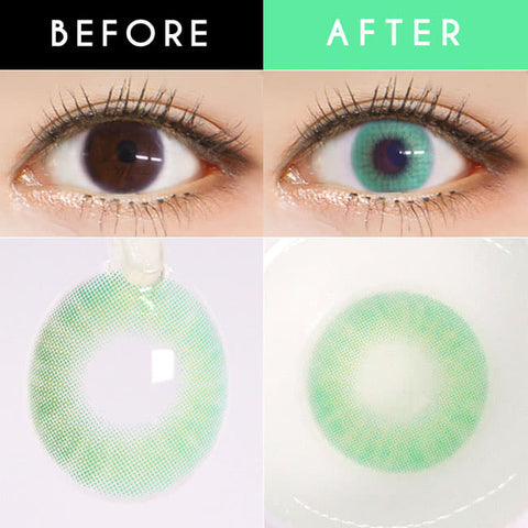 Candy Halloween Blue Contact Lens