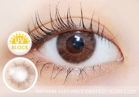 Natural elegance brown contacts