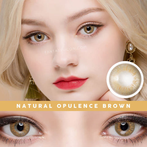 Natural Opulence Brown Contacts