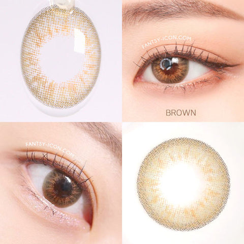 Natural Opulence Brown Contacts | UV Blocking Colored Contacts