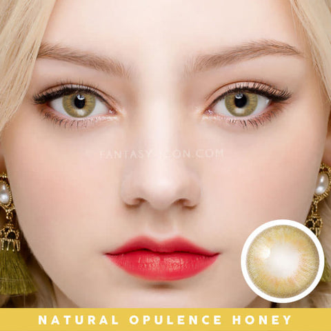 Innovision Natural  Honey Colored Contacts