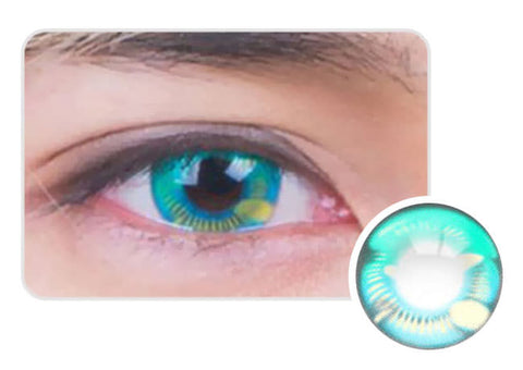 Water Drop Cosplay Green Contacts eyes