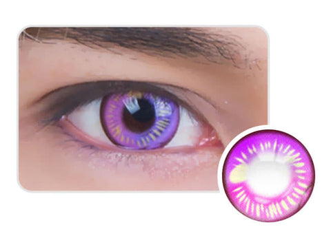 Water Drop Cosplay Violet Contacts EYES DETAIL