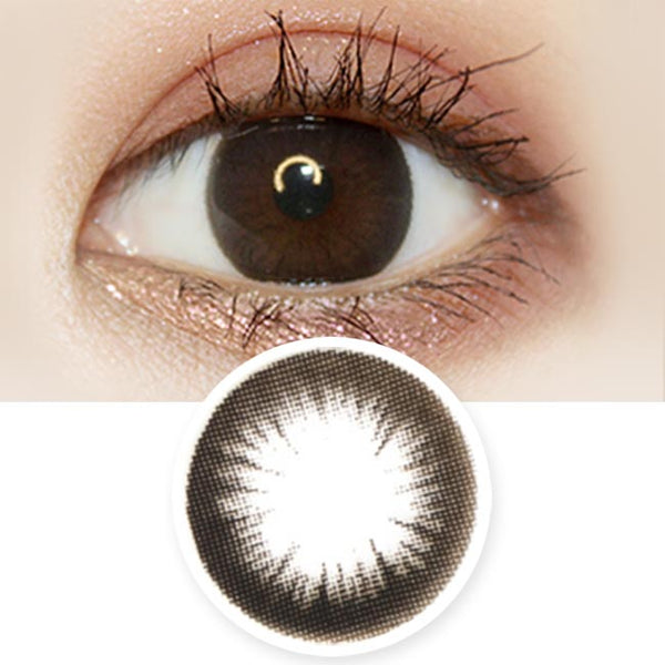 Black 1-Day Colored Contacts Artric Tia