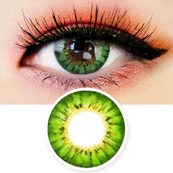 Colored Contacts - Ange Green Circle Lenses