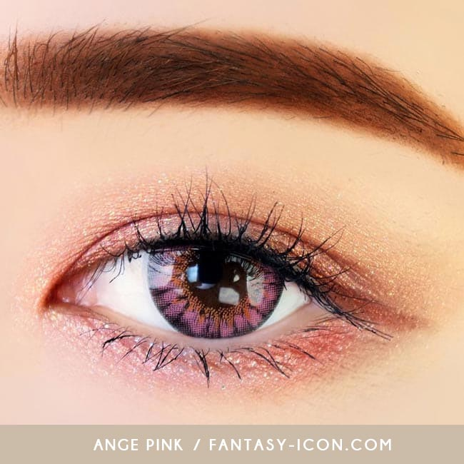 Colored contacts for Hyperopia Ange Pink 3