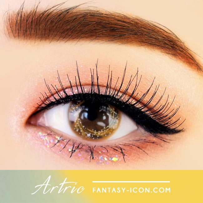 Artric Star Brown Colored Contact Lenses 2