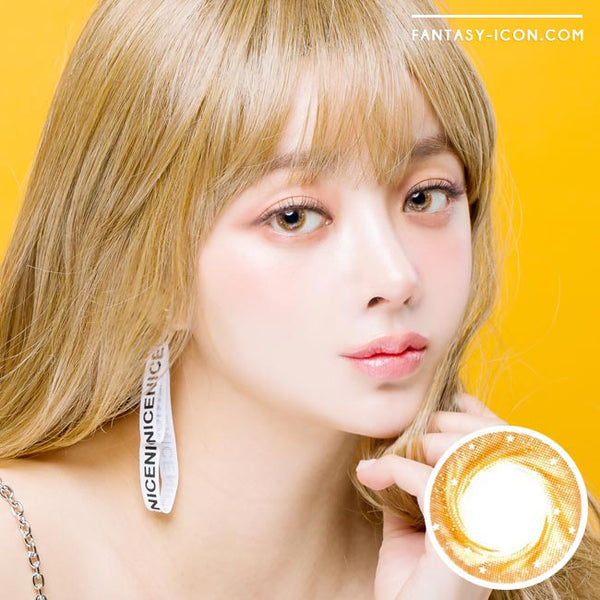 Artric Star Brown Colored Contact Lenses 1