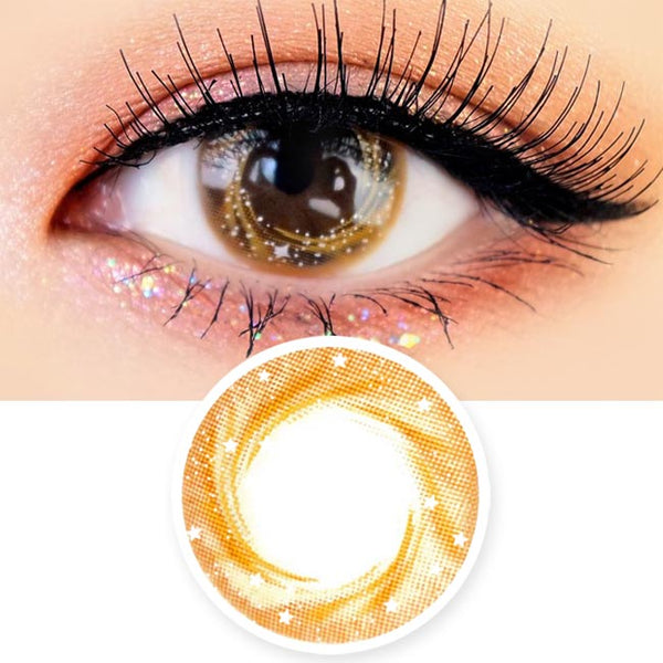 Artric Star Brown Colored Contact Lenses
