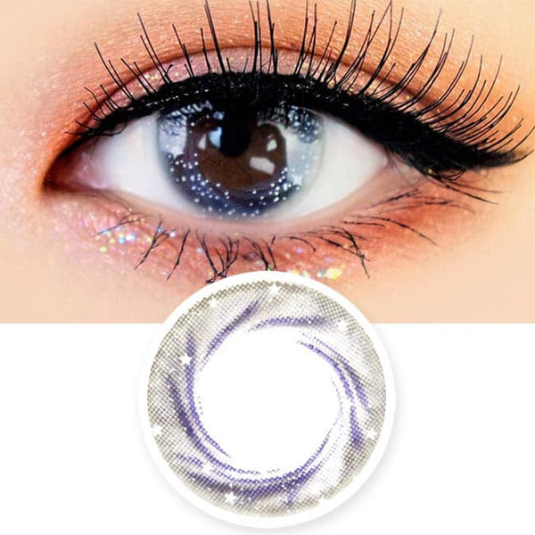 Artric Star Grey Colored Contact Lenses
