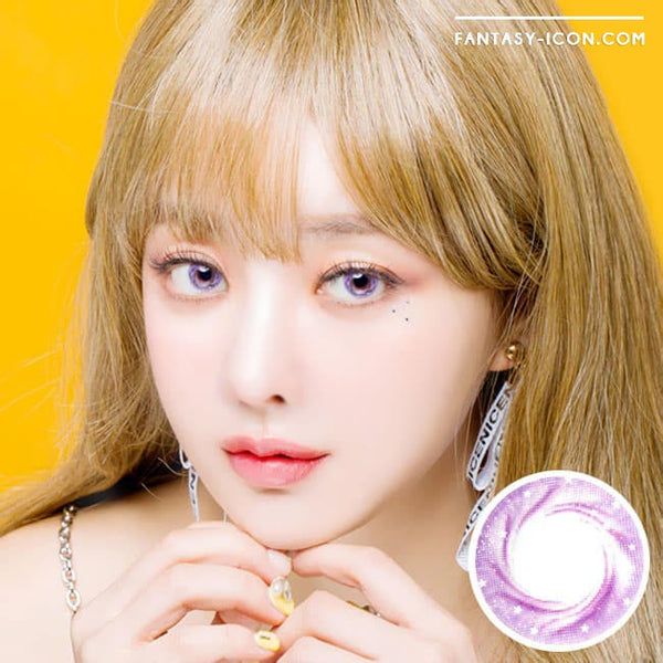 Artric Star Purple Violet Colored Contact Lenses 1