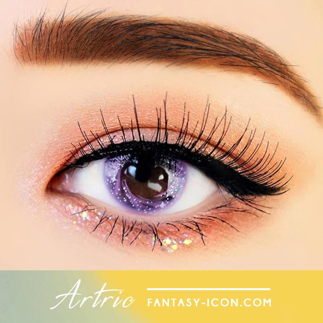 Artric Star Purple Violet Colored Contact Lenses 2