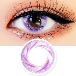 Artric Star Purple Violet Colored Contact Lenses
