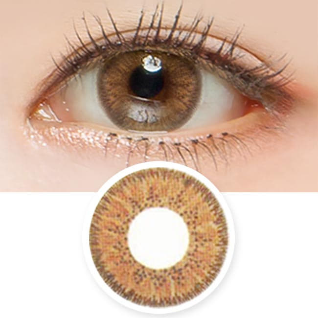 Aurora Brown Toric Lens - Colored Contacts For Astigmatism