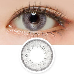 Aurora Grey Toric Lens - Colored Contacts For Astigmatism