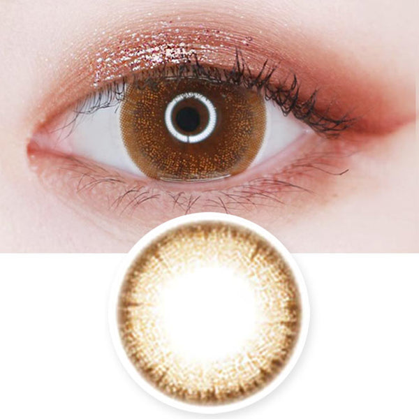 Colored Contacts Bijou Jewelry Brown - Circle Lenses