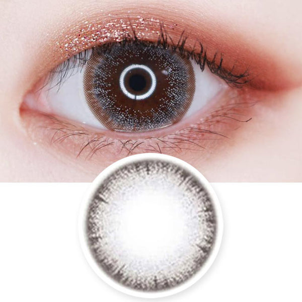 Colored Contacts Bijou Jewelry Grey - Circle Lenses