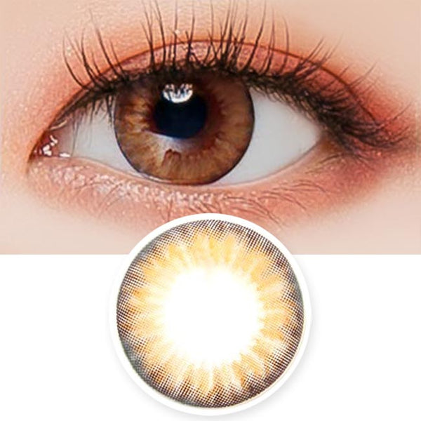 Toric Lens Bonita Dia BrownColored Contacts For Astigmatism